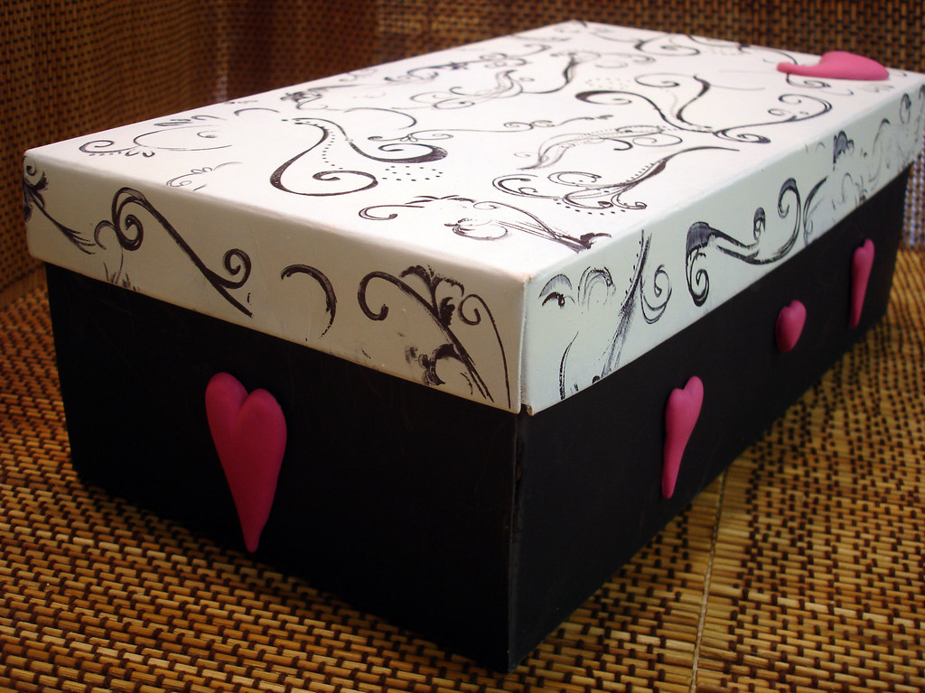 ... Valentineu0027s Day Shoe Box | By CraftyGoat