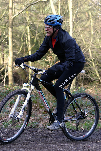 Gary Fisher on his Superfly, Chevin Cycles, Otley | by carltonreid