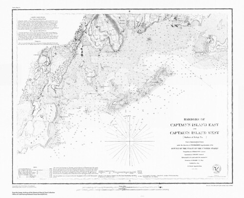 Harbors of Captain's Island East and Captain's Island West | by uconnlibrariesmagic
