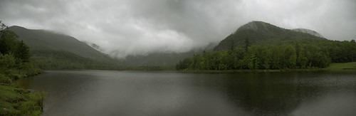 Basin Pond Panoramic, Chatham, NH- White Mountain National Forest. | by Jesse Lacasse