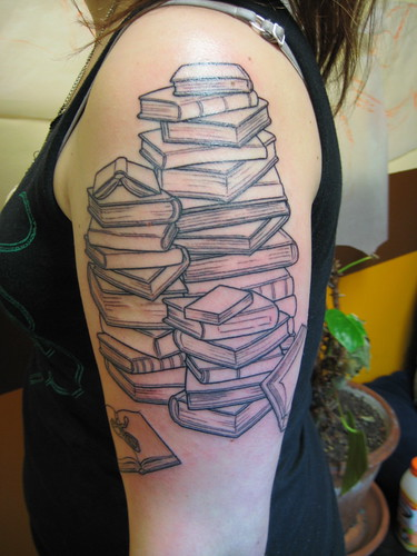 Stacks Of Books | by Shannon Archuleta