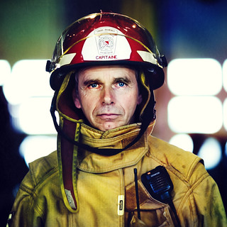 Firefighter  (front Page of DIGIPHOTO PRO magazine) | by Benoit.P