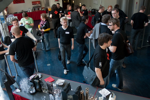 BarCamp Antwerp crowd