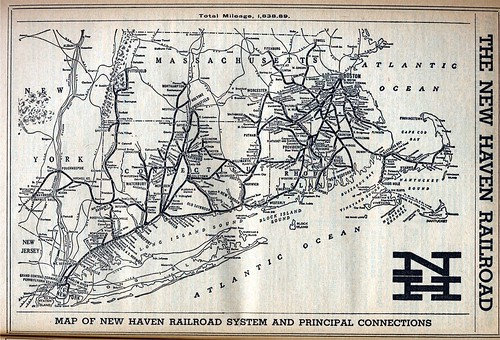 19670630 12 new haven rr map new haven railroad map from t flickr. Black Bedroom Furniture Sets. Home Design Ideas