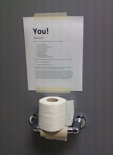 What's harder than changing the toilet paper roll? | by passiveaggressivenotes