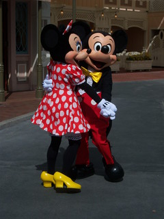 Mickey N Minnie Birthday Cakes