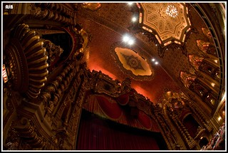 Ohio Theatre ceiling | by A. Blight