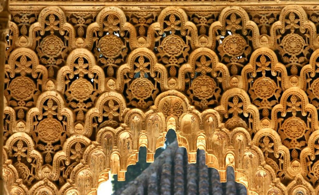 islamic architecture in the alhambra granada spain flickr
