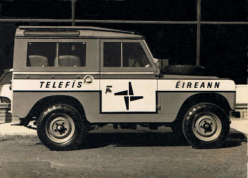 Telifis Eireann Land Rover Rte Signwriting By Kevin