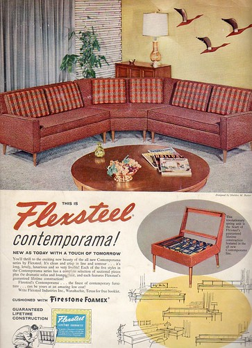 1950s and 60s furniture and decor Flickr