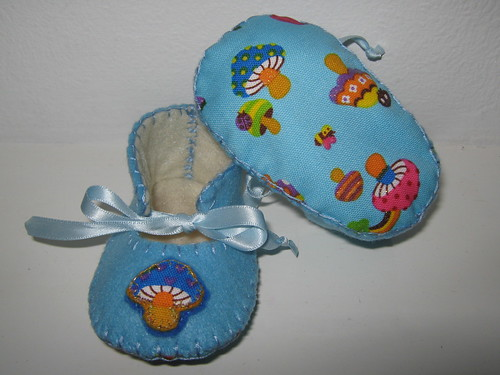 Fabric Baby Shoes Pattern Free