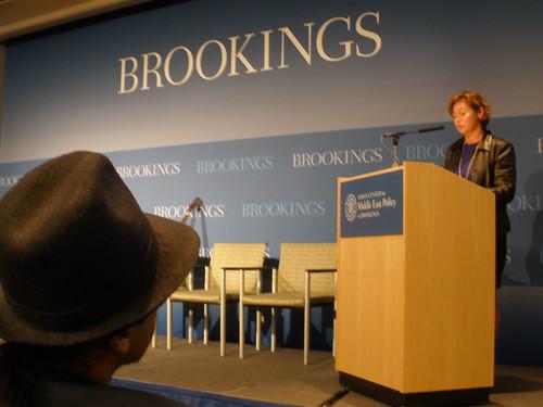Cynthia Schneider: Brookings Institutution Event