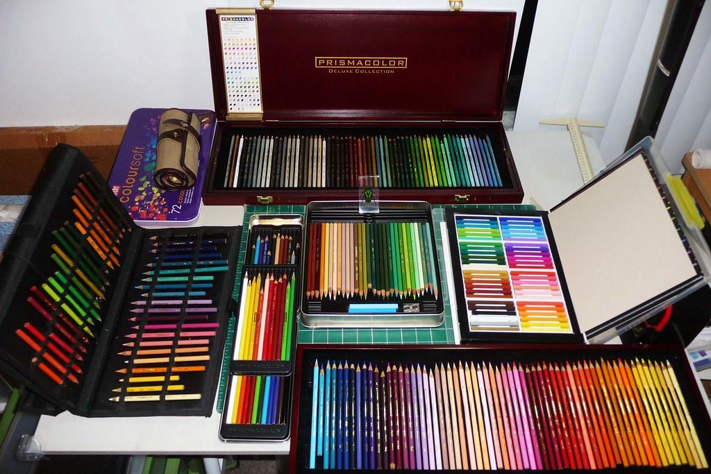 colored pencil sets collection 3 prismacolor range sets op flickr