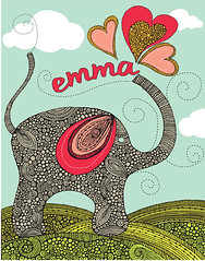 elephant | by valentinadesign
