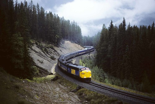 The Via Canadian in 1985 | by Sneebly