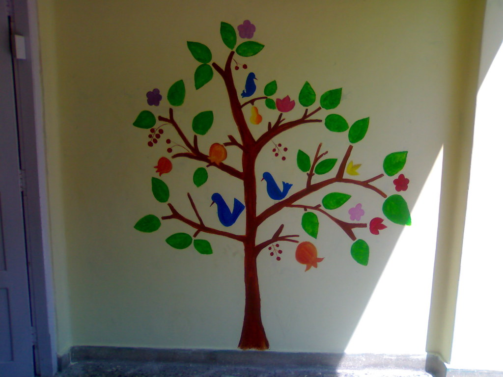 Tree Of Life Wall Mural Kalpavriksam Tree Of Life Wall Flickr