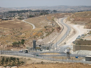 Checkpoint to a Village in the West Bank | by The Advocacy Project