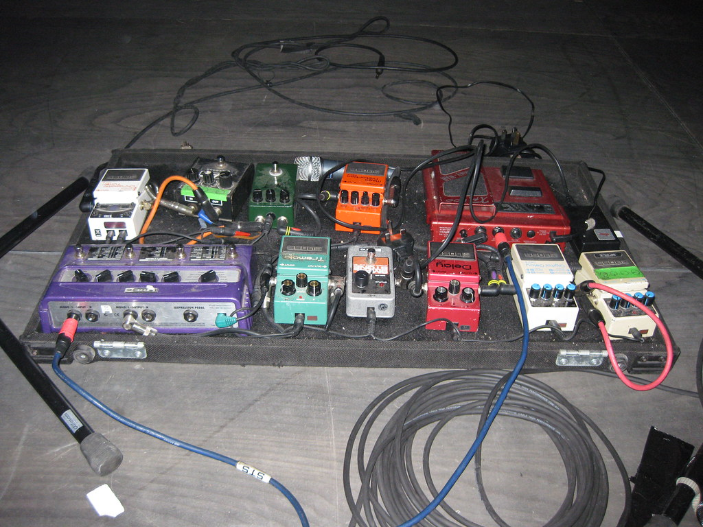 Oceansize Mike Vennarts Pedalboard Guitar Flickr Pedal Board Wiring By Lost Dogs