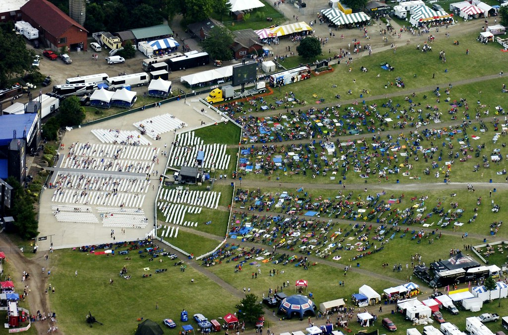 COUNTRY THUNDER AERIAL4   Country Thunder main stage and sea…   Flickr