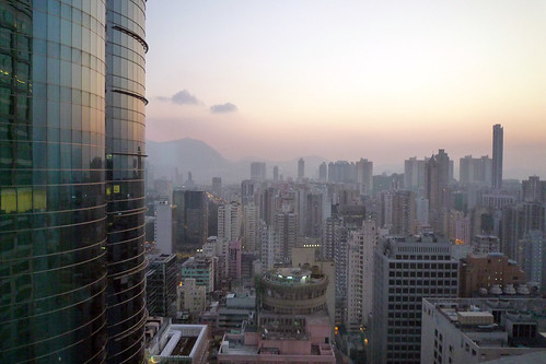 view from novotel century hong kong looking west ming. Black Bedroom Furniture Sets. Home Design Ideas