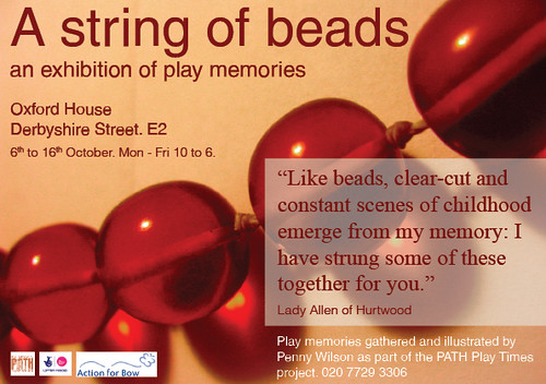 string of beads | by pathtowerhamlets