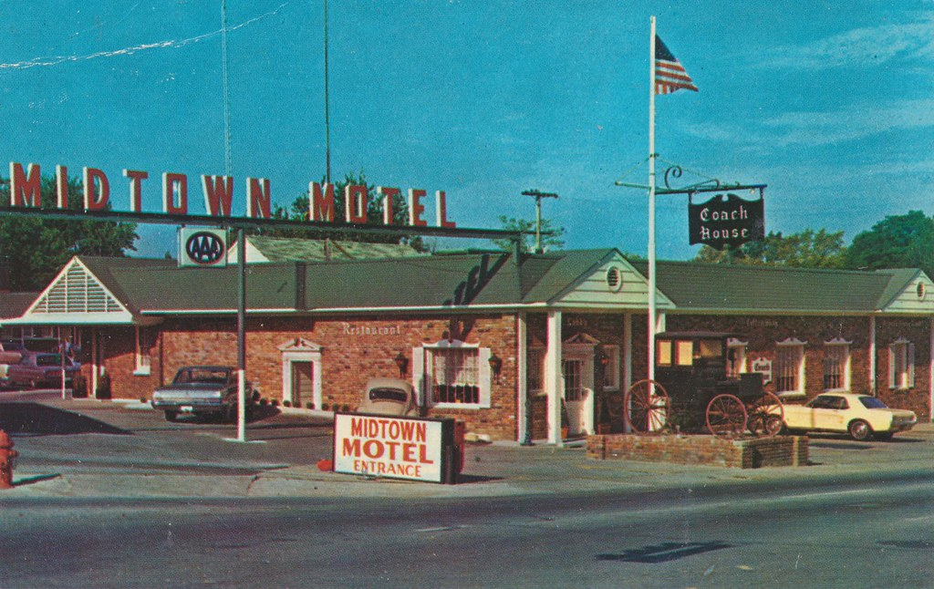 Midtown Motel & Couch House Restaurant - Jackson, Tennessee