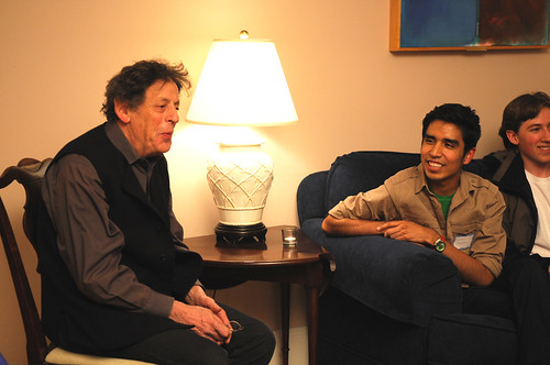 Philip Glass Visits with Dartmouth Students | by Arts at Dartmouth