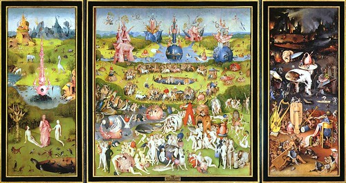 Bosch, Hieronymus (1450-1516) - 1503-04 Garden of Delights (The Prado) | by RasMarley