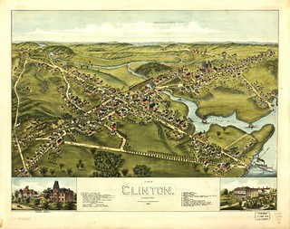 View of Clinton, Connecticut 1881. | by uconnlibrariesmagic
