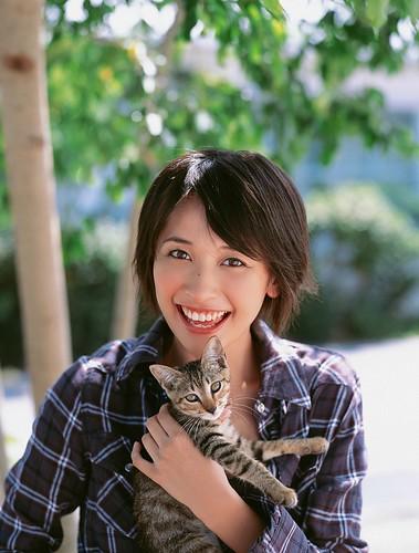 猫笑顔山崎真実