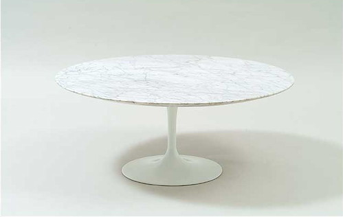 Cool Saarinen Coffee Table 36 Tulip Coffee Table In White Marb Pabps2019 Chair Design Images Pabps2019Com