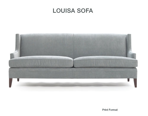 ... Louisa Sofa By Mitchell Gold + Bob Williams | By SarahKaron