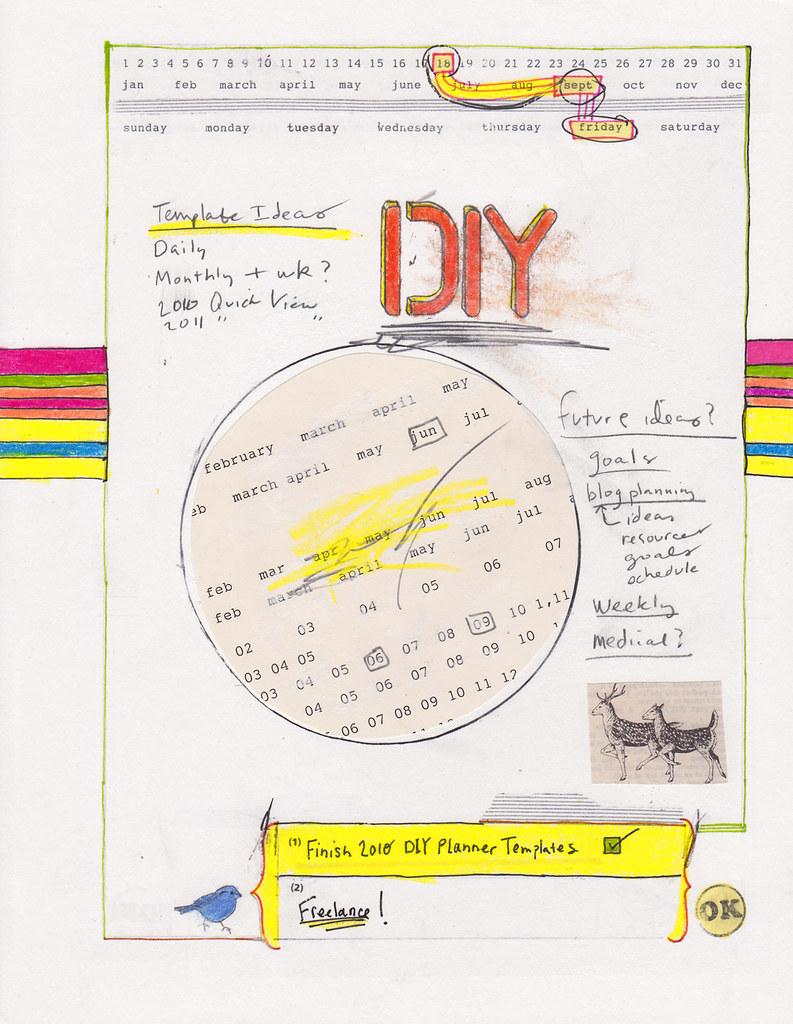 diy planner template | DIY Planner Templates - free download… | Flickr