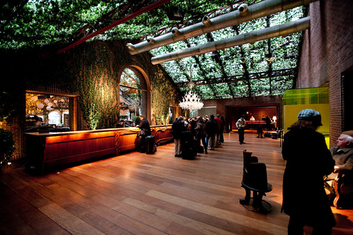 40 Foot High Ivy Covered Lobby In Hudson Hotel Nyc Flickr