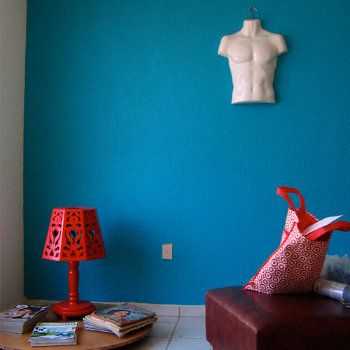 getting turquoise / my new living room | by jasho.mx
