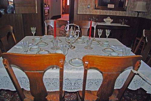 Elegant Dining Room Set Up