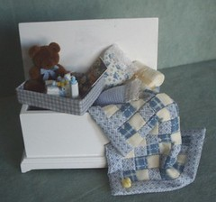 Miniature Filled Baby Trunk | by Hart's Desire Minis