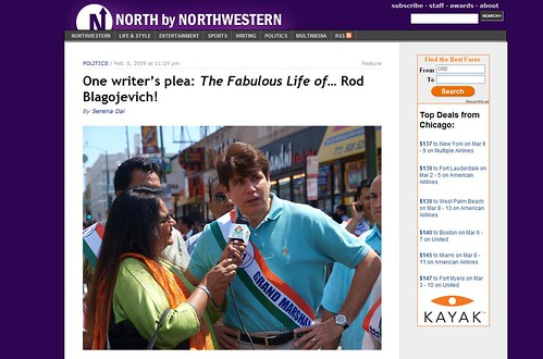 My photo published on north by northwestern an online stu for How to get my photographs published