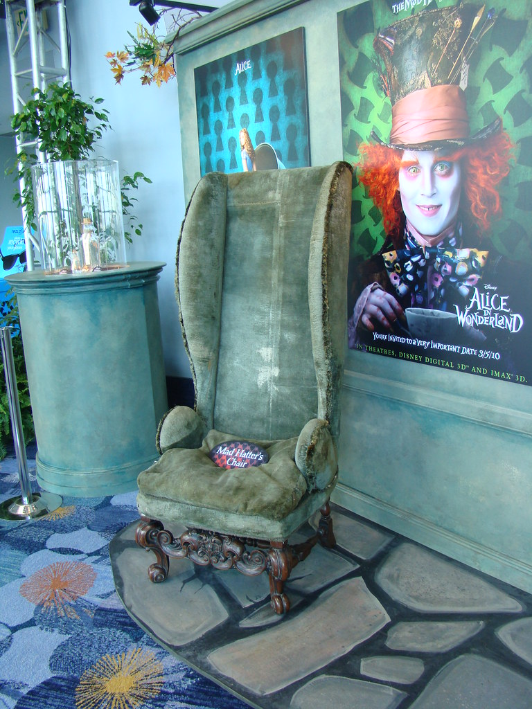 Charmant ... CrimsonGypsy1313 D23 Expo: Mad Hatteru0027s Chair | By CrimsonGypsy1313
