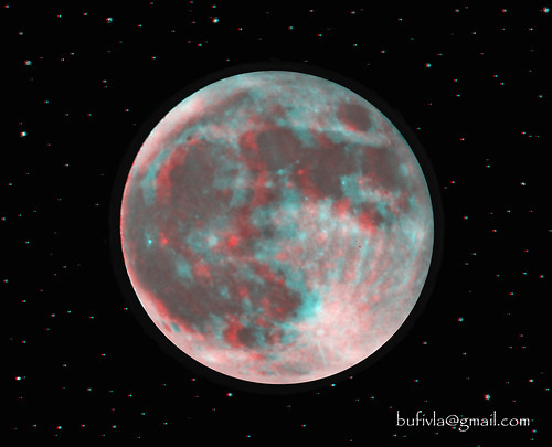 Full Moon - 3d anaglyph | by bufivla
