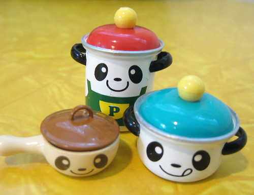 small panda pans | by colorkitten