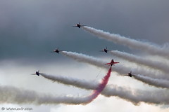 The Red Arrows RIAT 2009 | by xnir