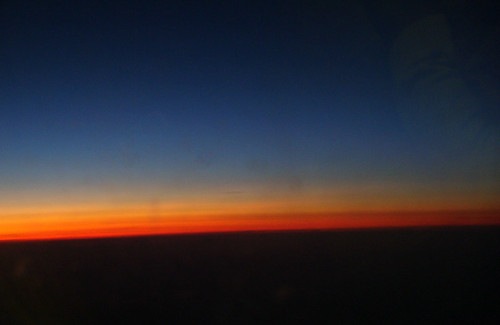 Sunset at 10 000 meters (33 000 feet) | by Konrad Iber