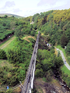 The Rod Viaduct, Laxey Waterwheel, Isle Of Man. | by Jim Linwood
