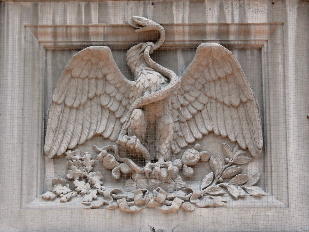 Eagle and serpent mexico the national symbol of mexico flickr eagle and serpent mexico by ilhuicamina biocorpaavc