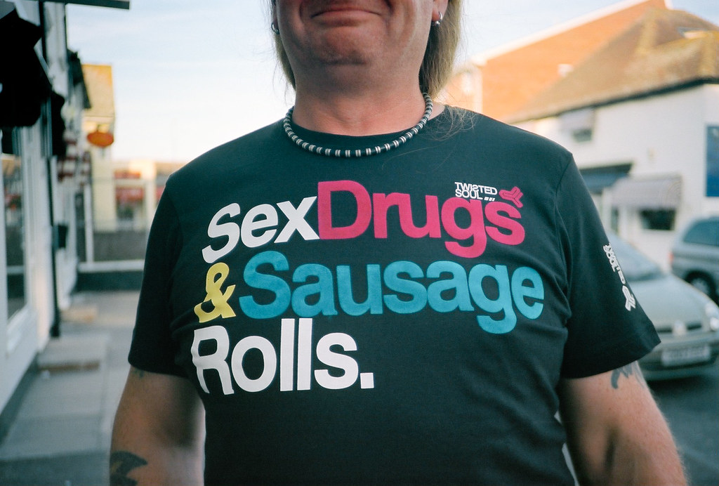 Sex drugs sausage rolls