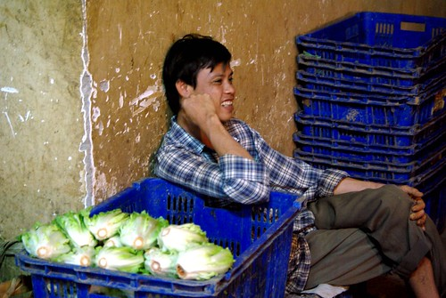 Cabbage Seller - Chanh Hung Night Fish Market. Ho Chi Min City/Saigon | by The Hungry Cyclist