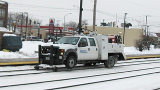 Metra Hi Rail maintenance truck. Elmwood Park Illinois. January 2009. | by Eddie from Chicago