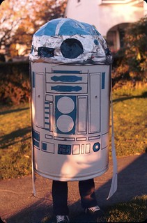 Johnny's R2D2 costume, Halloween 1978 | by DrBjorn