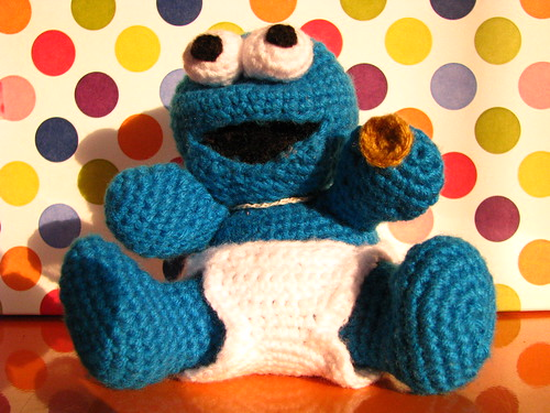 Amigurumi Cookie Monster : amigurumi cookie monster my picuu Flickr
